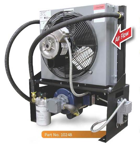 Oil Coolers For Hydraulic Systems : Oil cooler aoc mei total elevator solutions